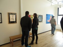 World as our Classroom LOCAL: Students Exhibit Artwork at AVA Gallery
