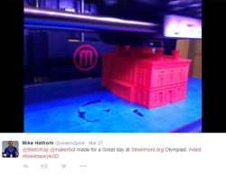 3D Printing Olympiad on VPR